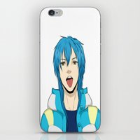 dmmd iPhone & iPod Skins featuring AOBA by jean-huh-kirschnickerdoodle