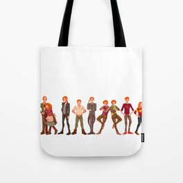 The Weasley Family Tote Bag