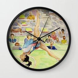 Simone Biles Olympic Gymnast Wall Clock