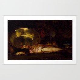 William Merritt Chase - Still Life Art Print