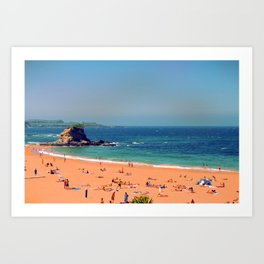 Summer in the North of Spain Art Print