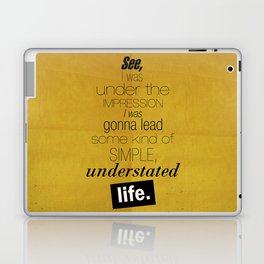 Understated Life Laptop & iPad Skin