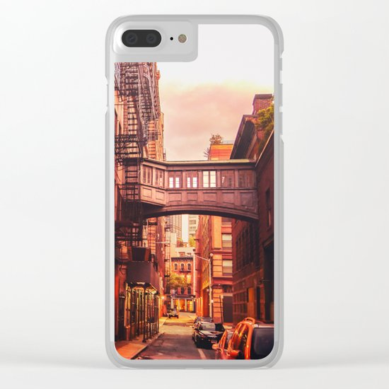New York City Alley Clear iPhone Case