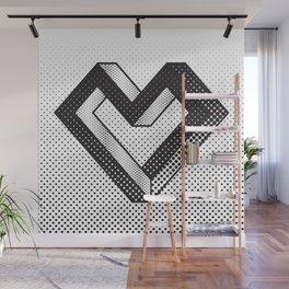le coeur impossible (nº 5) Wall Mural