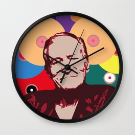 Rest in Boobs - Hugh Hefner Wall Clock