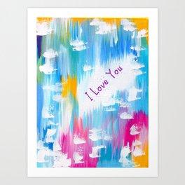 Love Phone Case Art Print