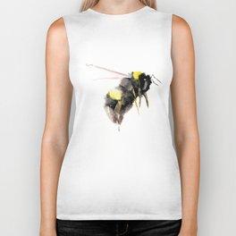 Bumblebee, bee art, bee design Biker Tank