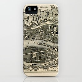 Plan von Bremen iPhone Case