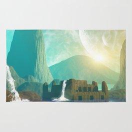 Fantasy landscape  Rug