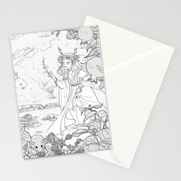 Autumn Queen Stationery Cards