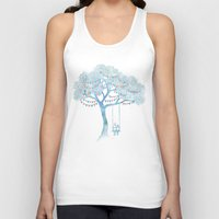 fancy Tank Tops featuring The Start of Something by David Fleck