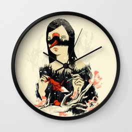 The Crane Wife Wall Clock
