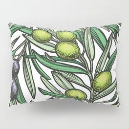 Mediterranean pattern — Olives Pillow Sham