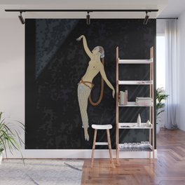 "Art Deco Design ""Diamond Dancer"" Wall Mural"