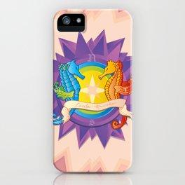 Cavalos Marinhos (Seahorses) iPhone Case