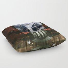 Room Skull Floor Pillow