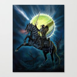 Heavy Metal Knights Canvas Print