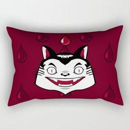 Count Dracula Von Kitteh Rectangular Pillow