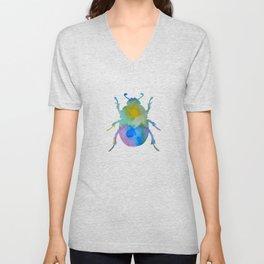 Beetle Scarabaeus Unisex V-Neck