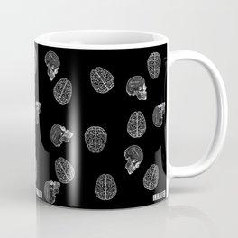 my poor brain - ffs - black version-  Coffee Mug