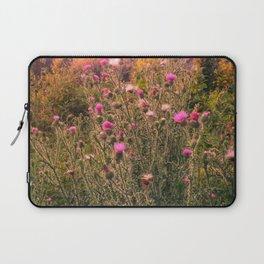 Thistle Field Laptop Sleeve