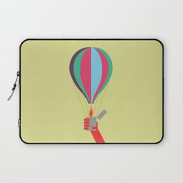 rock air balloon Laptop Sleeve
