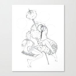 Cosmic Shaman Canvas Print