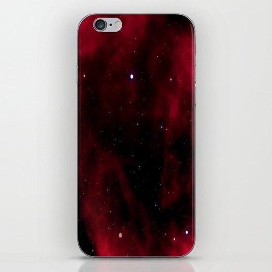 Nebula Red iPhone & iPod Skin