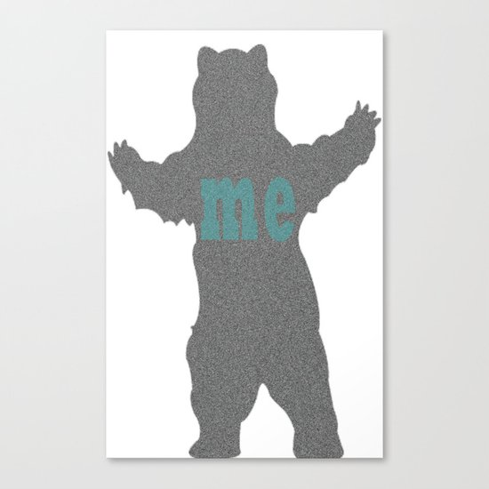 bear me Canvas Print