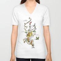 poland V-neck T-shirts featuring O'Prime Zielona Góra Poland Colour by O'Prime