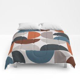 Mid Century Modern Geometric 25 Comforters