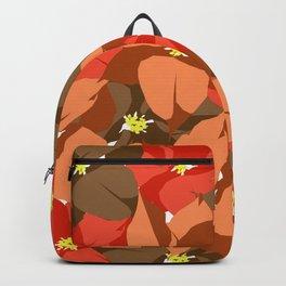 Poinsettia Love Backpack