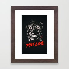 They Live - Obey Framed Art Print