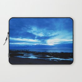Arm from Above Plays with the Sunset Laptop Sleeve