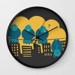 Three plus one Wall Clock