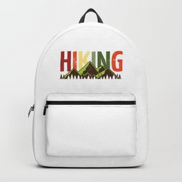 Hiking Nature Mountains Forest Backpack