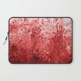 Bloody Abattoir Wall Laptop Sleeve