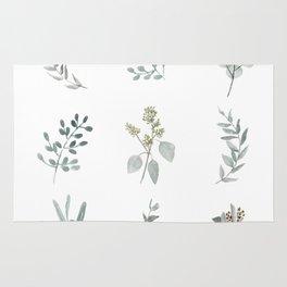 Botanical elements Rug