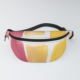 14 | 190321 Watercolour Abstract Painting Fanny Pack
