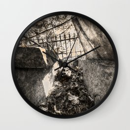 A look inside the Stone Coffin Wall Clock