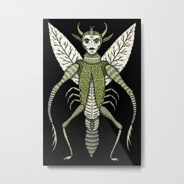 Ten-Legged Creepy Crawly Metal Print