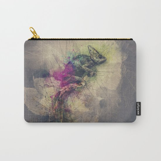 When i Dream of Chameleon Carry-All Pouch