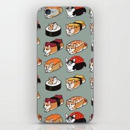Sushi  Corgi iPhone Skin