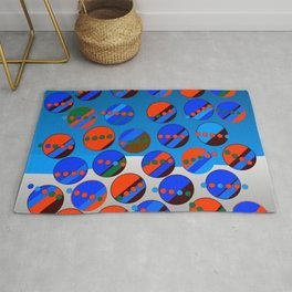 Bubbes Blues Rug