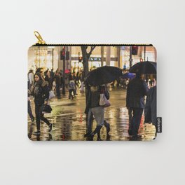 Rainy Night on Oxford Street, London Carry-All Pouch