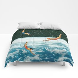 Space jumps Comforters