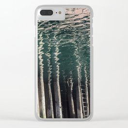 Climb the Ladder Clear iPhone Case