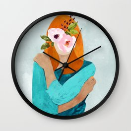 Embrace Change #painting #concept Wall Clock