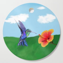 The very hungry hummingbird Cutting Board