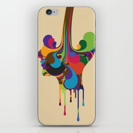 Poured iPhone Skin
